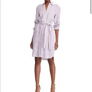 Ralph Lauren Linen shirt dress.